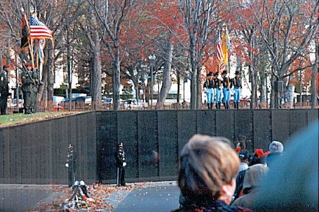 The Wall, Veteran's Day 2000 by Ingo Haas - 3/17th Air Cav Trooper
