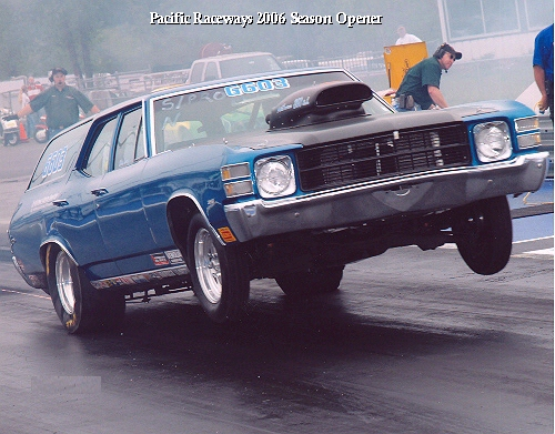 '71 Chevelle at Pacific Raceways 2006 Season Opener